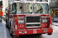 Samochód Strażacki w NYC Obraz Stock