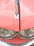 samochód szczegół różowego sześćdziesiątych Obrazy Stock
