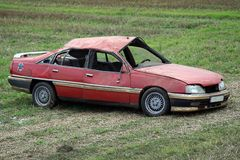 samochód szkody Fotografia Royalty Free