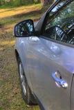 Samochód w drewnie Obrazy Stock