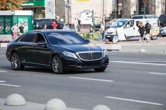 Samochód w ruchu Zdjęcie Royalty Free