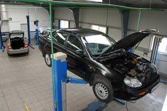 Samochód w usługa Zdjęcie Stock