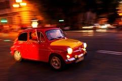 samochód wachluje futbolowego spanish Fotografia Royalty Free