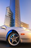 samochód współczesnego sportu Fotografia Royalty Free