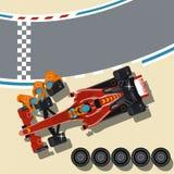 Samochód wyścigowy zdjęcia royalty free