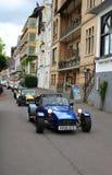 Samochód wyścigowy turystyka na ulicach w Boppard Niemcy Zdjęcia Royalty Free