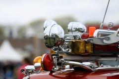 Samochód z światłami Zdjęcie Stock