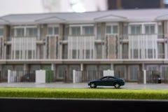Samochód zabawka na drodze Zdjęcie Stock