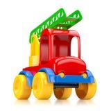 Samochód zabawka z schodkami ilustracji