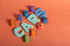 Samochód zabawki Fotografia Stock