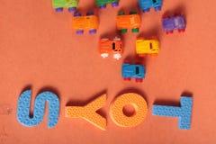 Samochód zabawki Zdjęcie Royalty Free