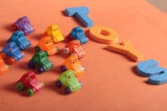 Samochód zabawki Obraz Royalty Free