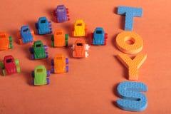 Samochód zabawki Obrazy Stock