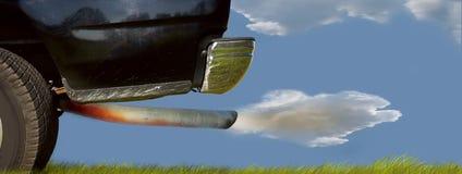 samochód zanieczyszczenia Fotografia Stock