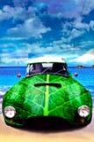 samochód zieleń Obraz Stock