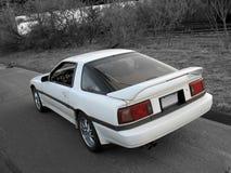 samochód odizolowane Fotografia Royalty Free