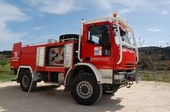 samochód strażacki Obraz Royalty Free