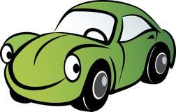 samochód szczęśliwy Obrazy Royalty Free