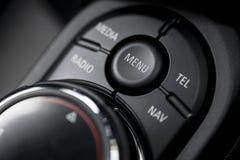 Samochodów guzików szczegół Zdjęcie Stock