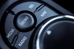 Samochodów guzików szczegół Obrazy Stock