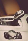Samochodów guzików szczegół Zdjęcia Royalty Free