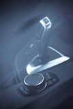 Samochodów guzików szczegół Fotografia Royalty Free
