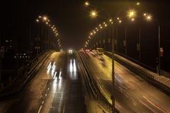 Samochodów im ruch tęsk ujawnienie Zdjęcie Royalty Free