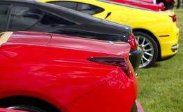 samochodów sporty europejscy drodzy Fotografia Royalty Free