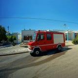 Samochodów strażackich stojaki Fotografia Royalty Free