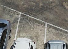 samochodów zaparkowanych Fotografia Royalty Free