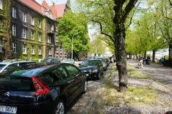 samochodów zaparkowanych Zdjęcia Stock