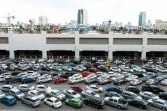 samochodów zaparkowanych Zdjęcia Royalty Free
