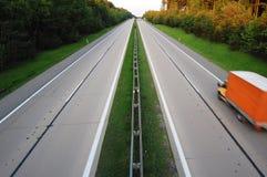 samochodowa autostrada obrazy royalty free