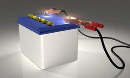 Samochodowa bateria ilustracja wektor