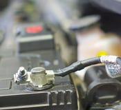 Samochodowa bateria Zdjęcia Royalty Free