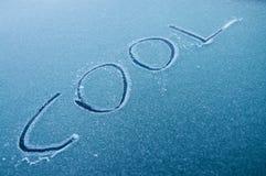 samochodowa chłodno zima Obraz Stock