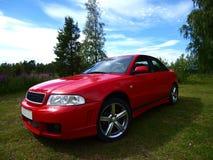 samochodowa czerwień Fotografia Royalty Free