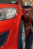 samochodowa czerwień Zdjęcie Royalty Free