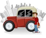 samochodowa czerwień Fotografia Stock