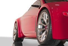 samochodowa czerwień Obraz Stock