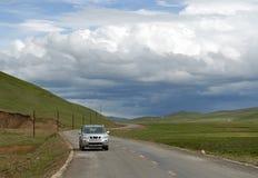 samochodowa droga obraz royalty free
