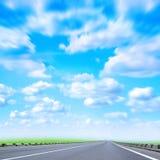 samochodowa droga Obrazy Royalty Free