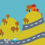 samochodowa góra Zdjęcie Royalty Free