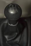 Samochodowa gearbox dźwignia; Ręczny przekaz fotografia royalty free
