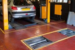 Samochodowa inspekcja Fotografia Royalty Free