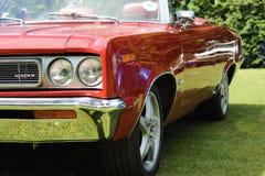samochodowa klasyczna czerwień Obrazy Stock