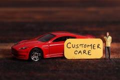 Samochodowa klient opieka zdjęcia royalty free