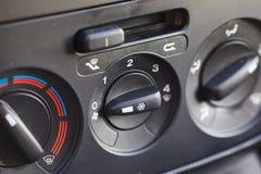 Samochodowa klimat kontrola zdjęcia royalty free