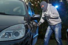 Samochodowa kradzież Zdjęcie Royalty Free