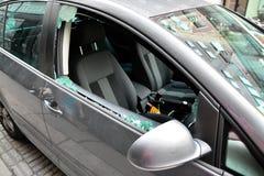 Samochodowa kradzież Obraz Royalty Free